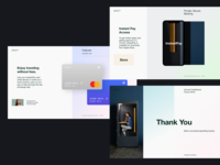 Capital Investment (It's Wrap) studio landing page grid ui design startup app editorial ecommerce clean typography user interface fashion agency store ui web design minimalist interface uiux