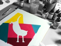 Acrylics on the way