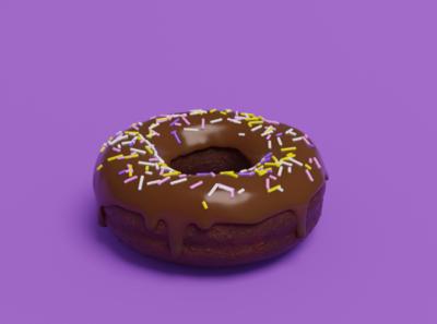Learning 3D | The Donut blendercycles blender donut 3d art 3d