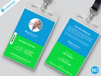 Identity Card Front Back Design