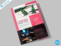 Bar Restaurant Fold Brochure Psd