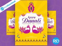 Flyer Happy Diwali Greeting