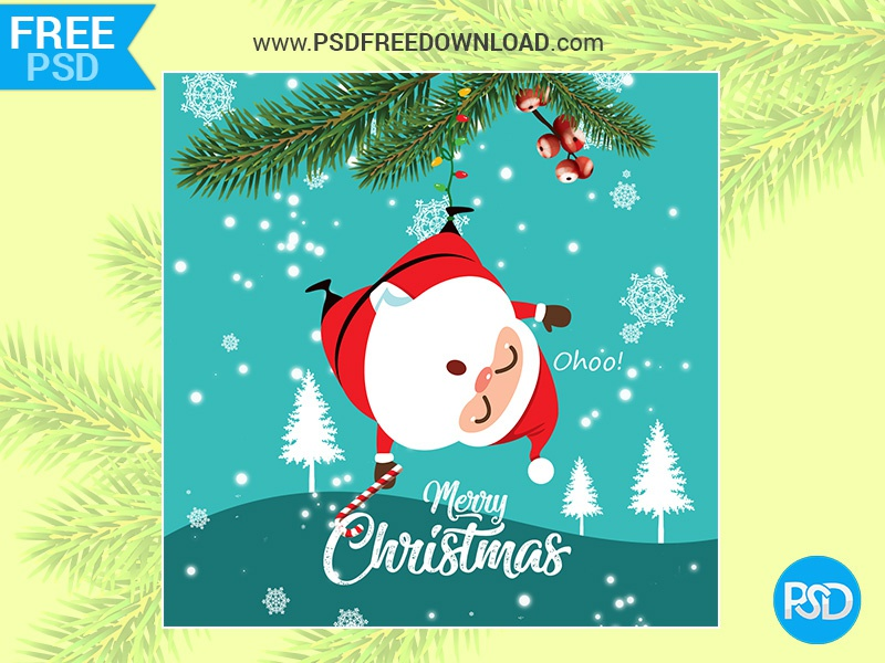 Merry Christmas Images Free Download.Merry Christmas Greeting Card Psd By Psd Free Download On