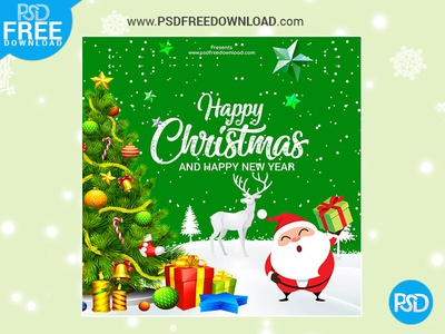 Christmas Banner Design Free Psd