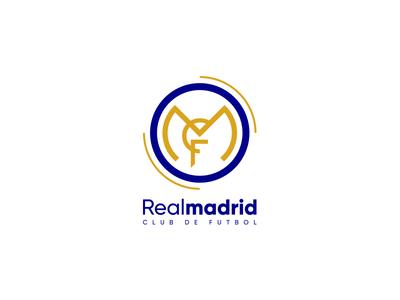 Real Madrid logo design concept