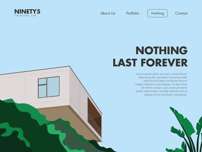 NOTHING - Landing Page 1.0