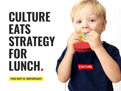 Culture > Strategy inspiration quote strategy culture