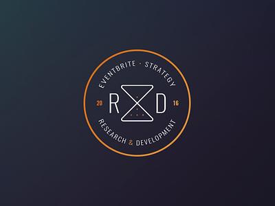 R&D innovation incubation teamwork brand mark logo eventbrite strategy
