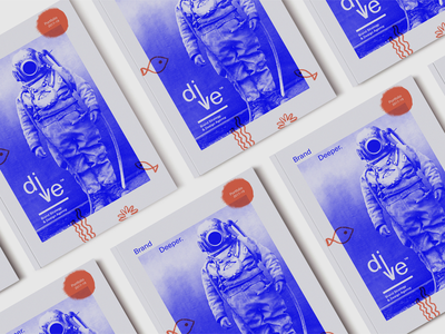 dive™ Brand Elements agency ocean sea fish logo diving depth strategy brand branding dive