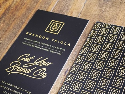New Personal Business Cards design branding type hand lettered lettering