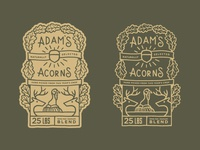 Adam's Acorns | Label WIP