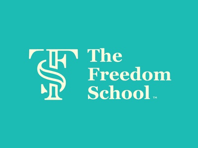TSF Monogram logo branding f s t monogram school freedom