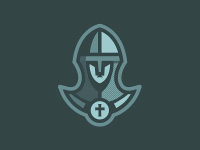 Knight   Logo Design armor medieval cross helmet knight logo brand