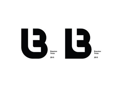 Left or Right? Please comment! icon brandon logo mark branding monogram t b bt