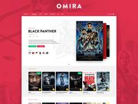 Omira - Movie Platform