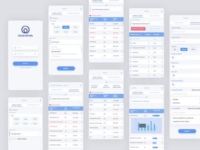 Zevac App prototype app design antibiotic resistance design ui