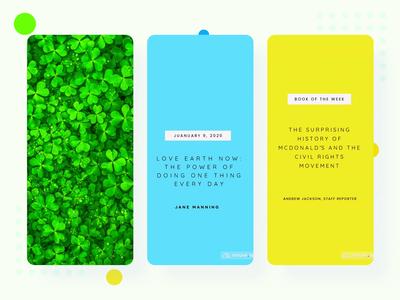 Text Templates @mouve.app instagram branding design ui