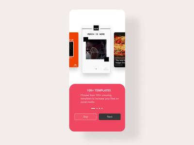 Onboarding @mouve ux illustraion design app design ui