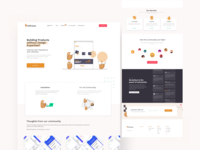 UXPotato  - UX Community ux ui design illustraion website webdesign