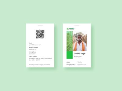 Swapeco ID card