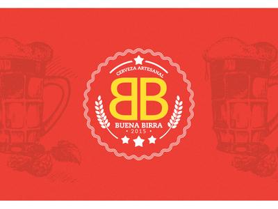 Logo Buena Birra cerveza beer branding beer brand design brand