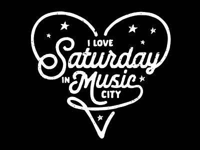 I love Saturday in Music City fun bachelorette bachelor party weekend saturday music city nashville
