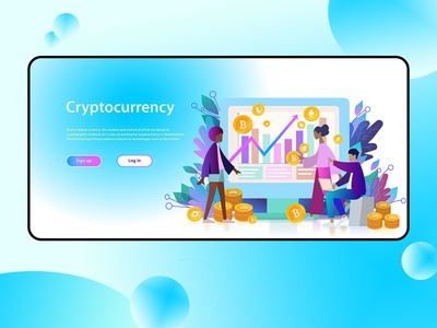 Cryptocurrency header