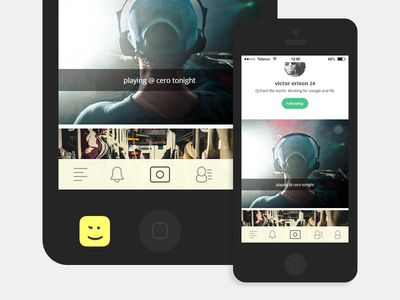 New App 2015 app ios android sosial interface ui ux
