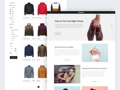 eCommerce | Online fashion retailer