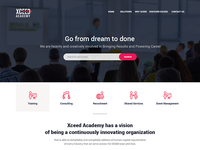 Training Company website