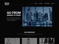 Training Company website - Another Design