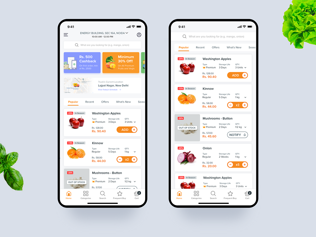 Grocery Store App buy grocery online shopping app design grocery app