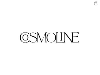 cosmoline Logo cosmoline classic font classic typography logotype logodesign branding design branding logo design logo