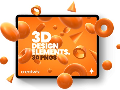 Free 3D design elements floating object floating modern design element ui kit donut circle freebie freebies free element shape c4d 3d art 3d minimal ui concept symbol design