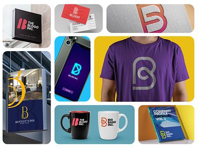 100+ Logos of letter B in one pack minimal graphic design branding logo design concept symbol icon logo illustration vector design