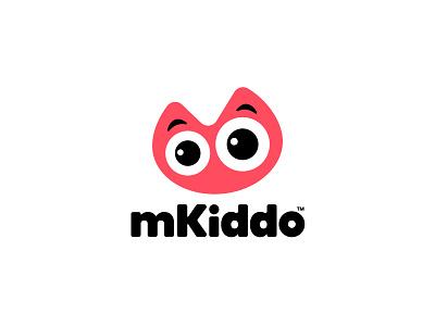 mKiddo Logo branding concept symbol icon illustration vector design logodesign logo mkiddo