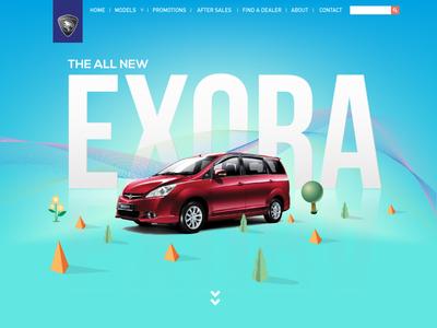 Proton Website concept