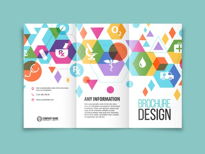 Healthcare Company Brochure Design By Manik N Ratan  Dribbble