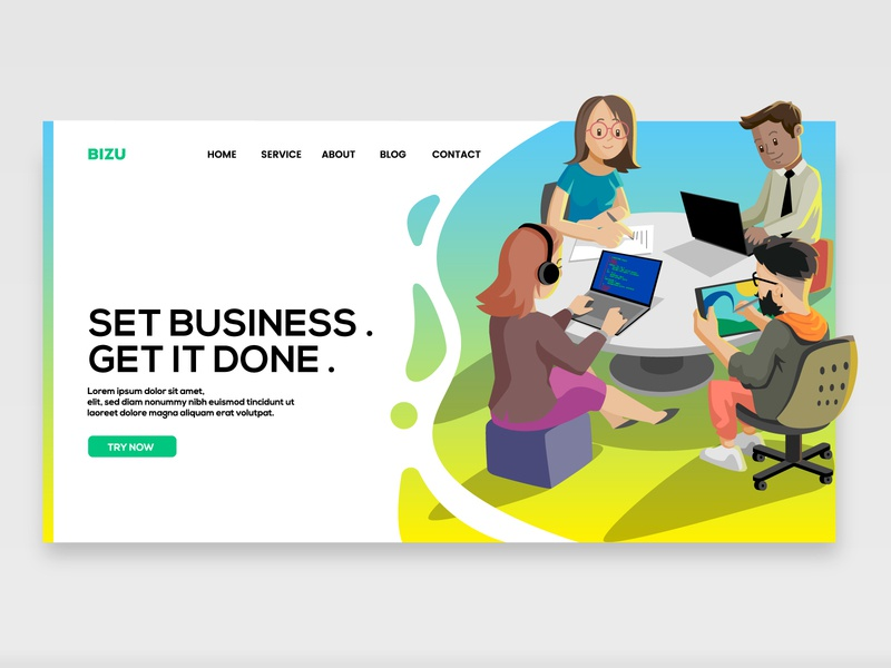 Startup Business web