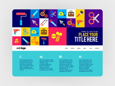 Web User interface identity color ipadpro template branding website app flat graphic design web art symbol concept icon logo vector illustration ux ui design