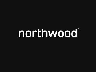Northwood Logo branding north wood modern design minimal furniture visual identity northwood logo design logo