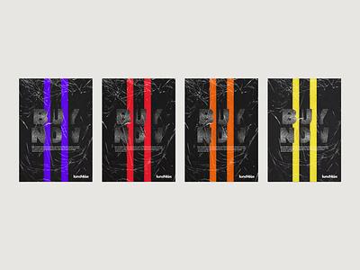 Lunchbox Rebranding music art festival poster festival music uidaily ui print design poster poster design apparel design t shirt design adobe photoshop brand identity visual identity branding design branding