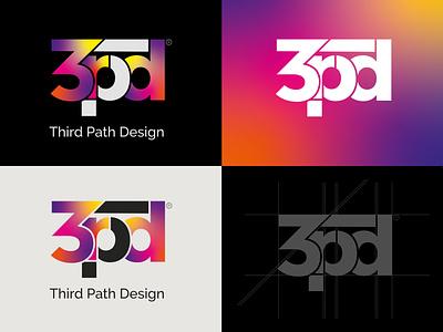 3rd Path Design 2018 typogaphy adobe illustrator adobe photoshop logoredesign logo refresh logo logo design design art foundation brand identity visual identity branding design branding