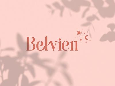 Belvien - Candle Brand adobe illustrator brand designer luxury logo skincare cosmetics logomark logotype brand identity design organic brand identity visual identity logo branding design adobe photoshop branding