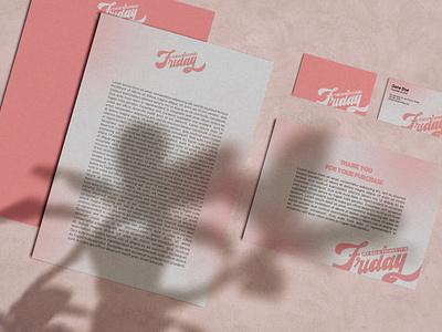 Skincare brand collateral logotype logo visual identity adobe photoshop adobe illustrator skincare cosmetics brand identity branding print print design