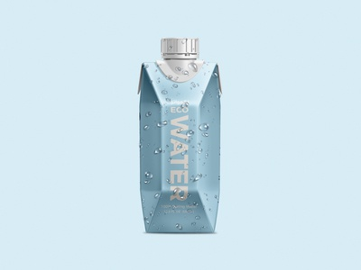 Ecowater Boxed Water Packaging