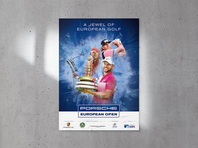 Porsche European Open Poster