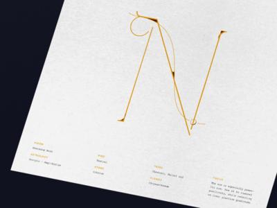 November Calendar Design | Mourning Moon