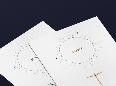 June Calendar Design