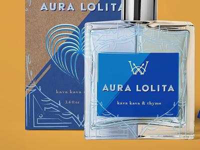 Warrior Fragrance Design label design perfume bottle south america tropical leaves color packaging branding logo design illustration typography
